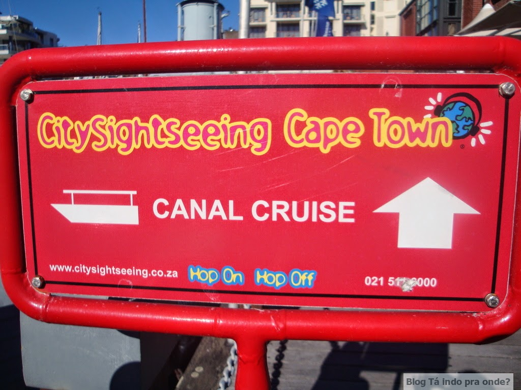 Canal Cruise CitySightseeing Cidade do Cabo