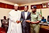 NICE ONE! INEC Offers Automatic Employment To Corps Member Who Lost His Sight During The Election (Photo)