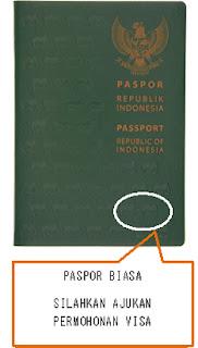 paspor biasa ke jepang