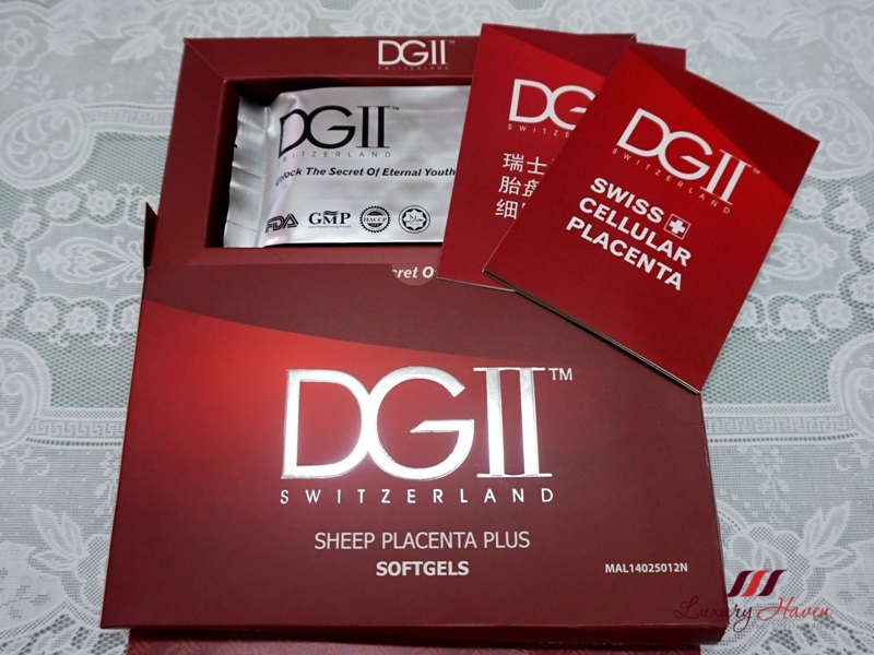 unboxing dgii switzerland sheep placenta plus softgels