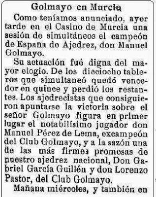 Golmayo en Murcia, El Liberal, 2 de abril de 1929 (1)