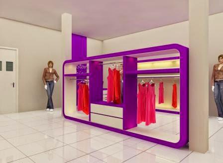 Display Pakaian Untuk Butik
