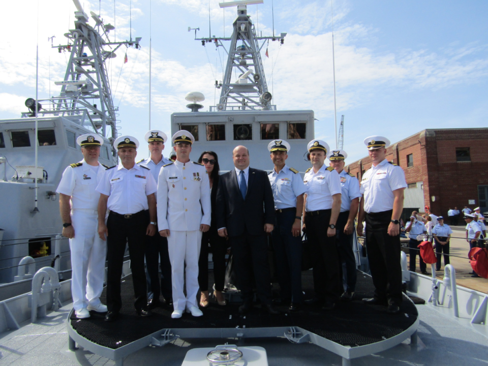 У США відбувся випуск українських екіпажів Айлендів