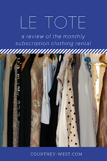 Le Tote: A Review of the Monthly Clothing Rental Subscription