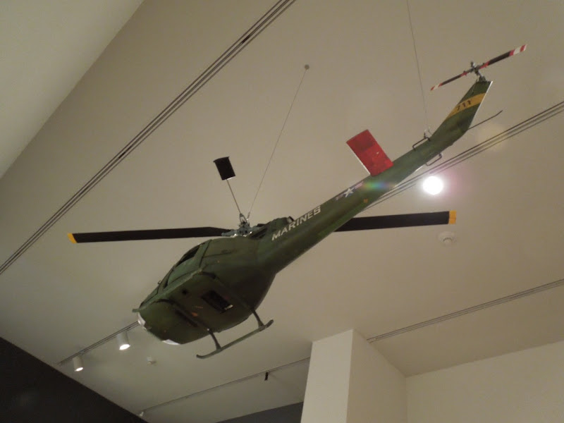Full Metal Jacket Marines helicopter model