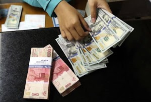 Hari Ini, Kurs Dolar Menguat Pasca Terkoreksi Angka Penggajian