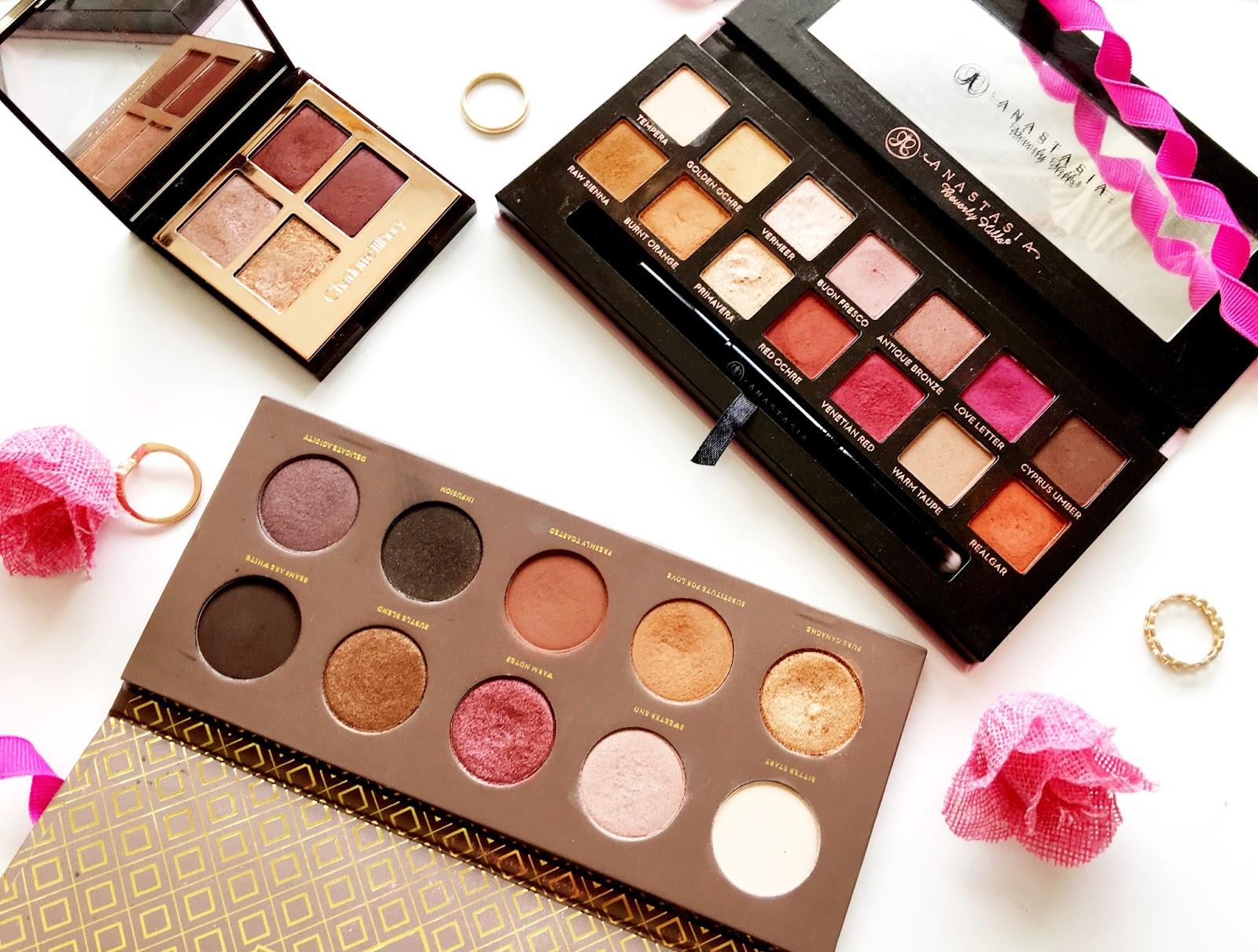 Autumnal Eyeshadow Palettes
