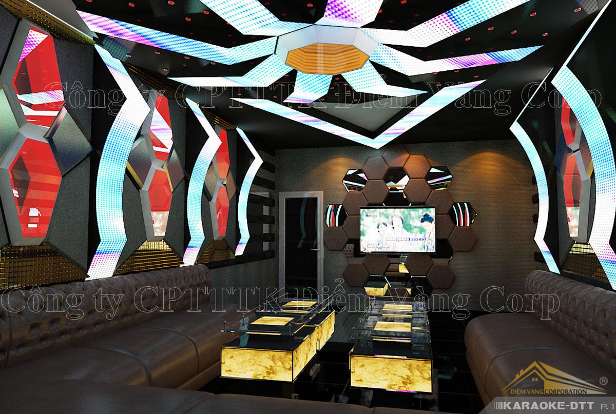 Thiết kế phòng karaoke 3D Ảnh Full chất lượng cao 48