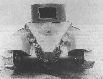 Легкий колесно-гусеничный танк БТ-6 - без орудия