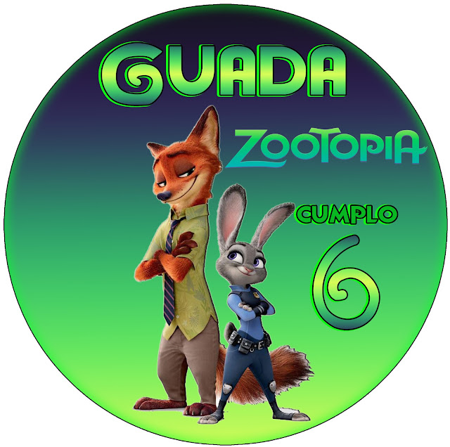 Kit Imprimible Zootopia Www Decokit Com