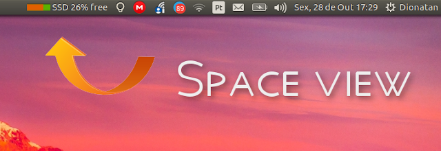 Space View Indicator Ubuntu