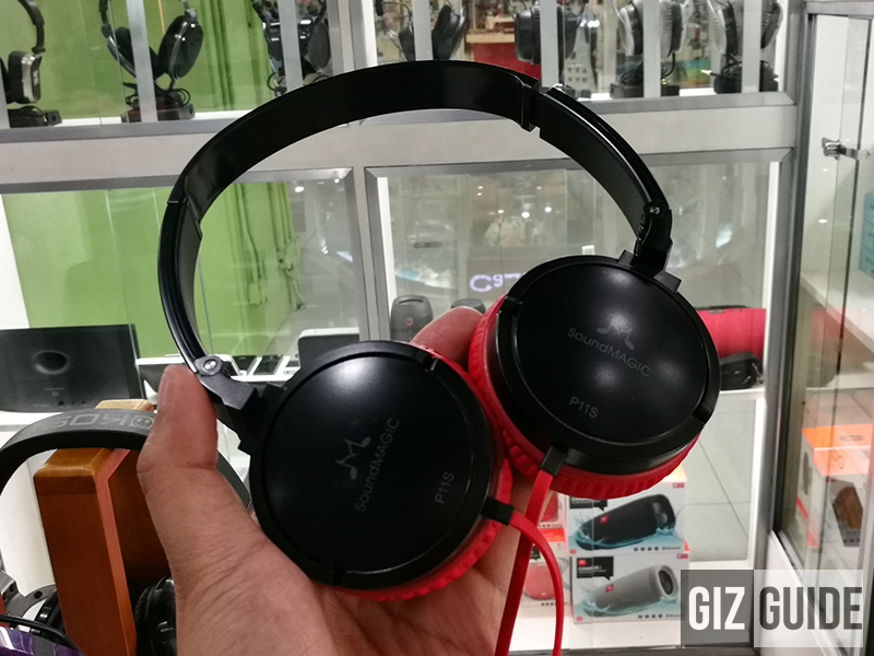 SoundMagic PL11s headphones at Egghead Audiohub