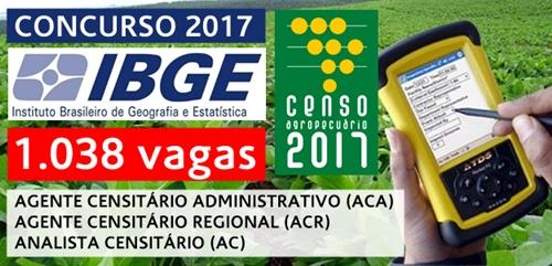 Apostila concurso IBGE 2017