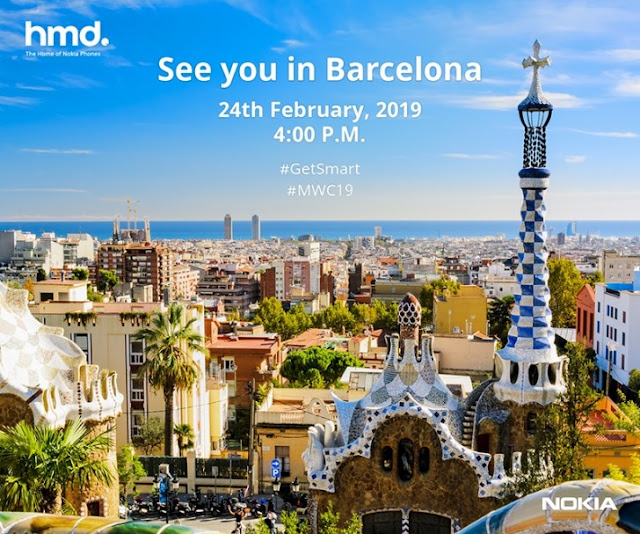 Nokia Mobile MWC 2019 Launch Event Invite
