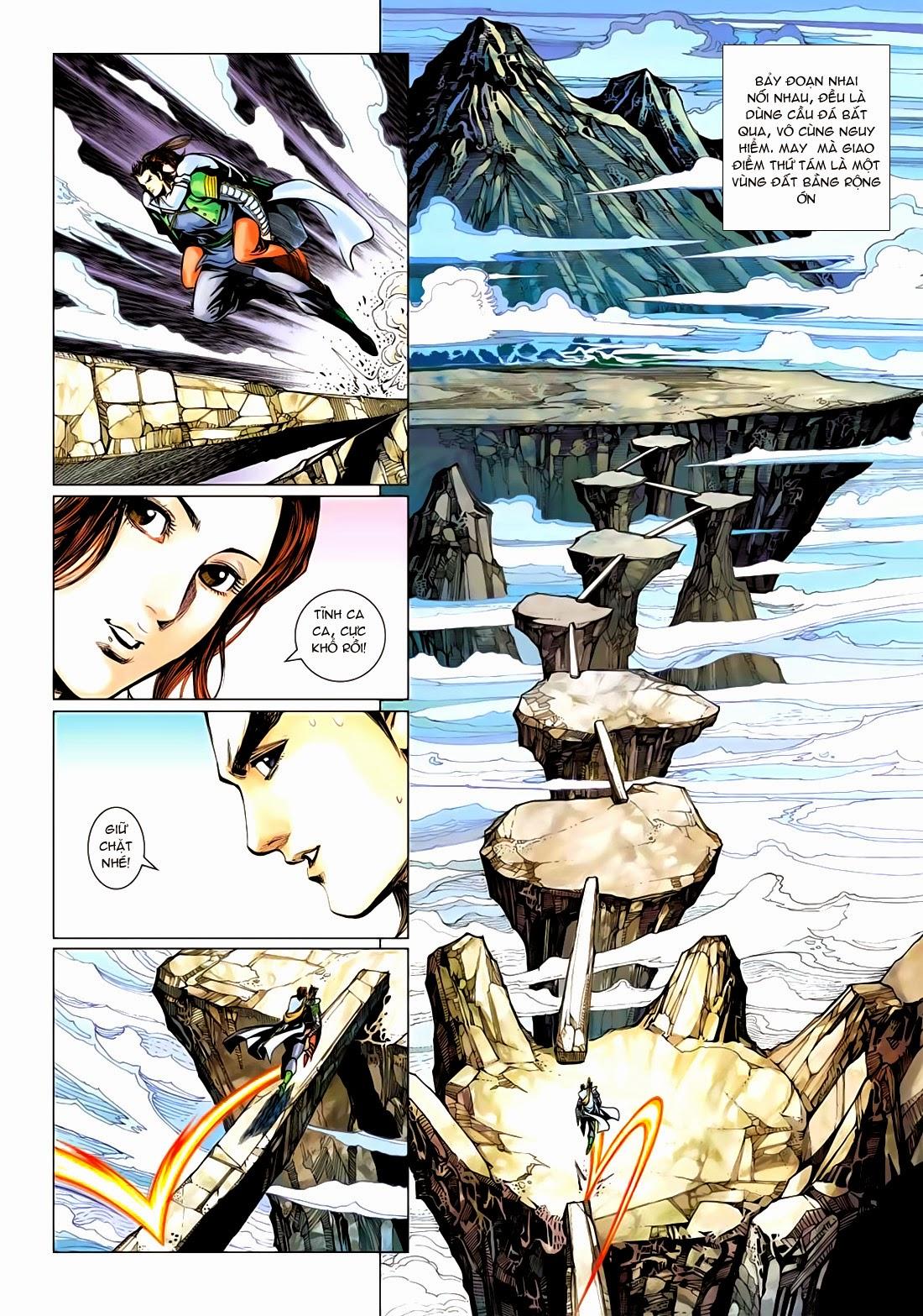Anh Hùng Xạ Điêu anh hùng xạ đêu chap 72: ngư tiều canh độc trang 30