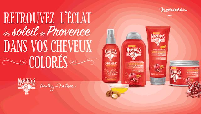 Test Produit Le Petit Marseillais Packs Éclat Couleur à tester !