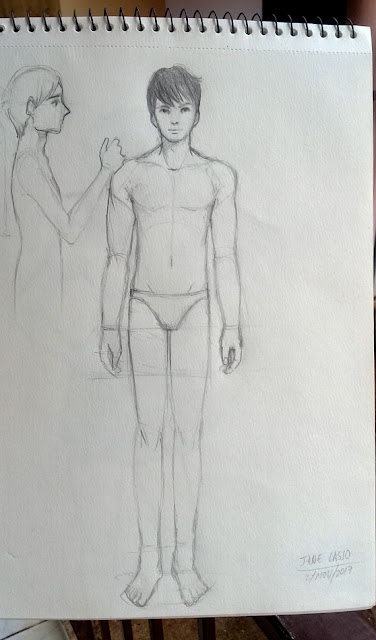 Boceto de hombre