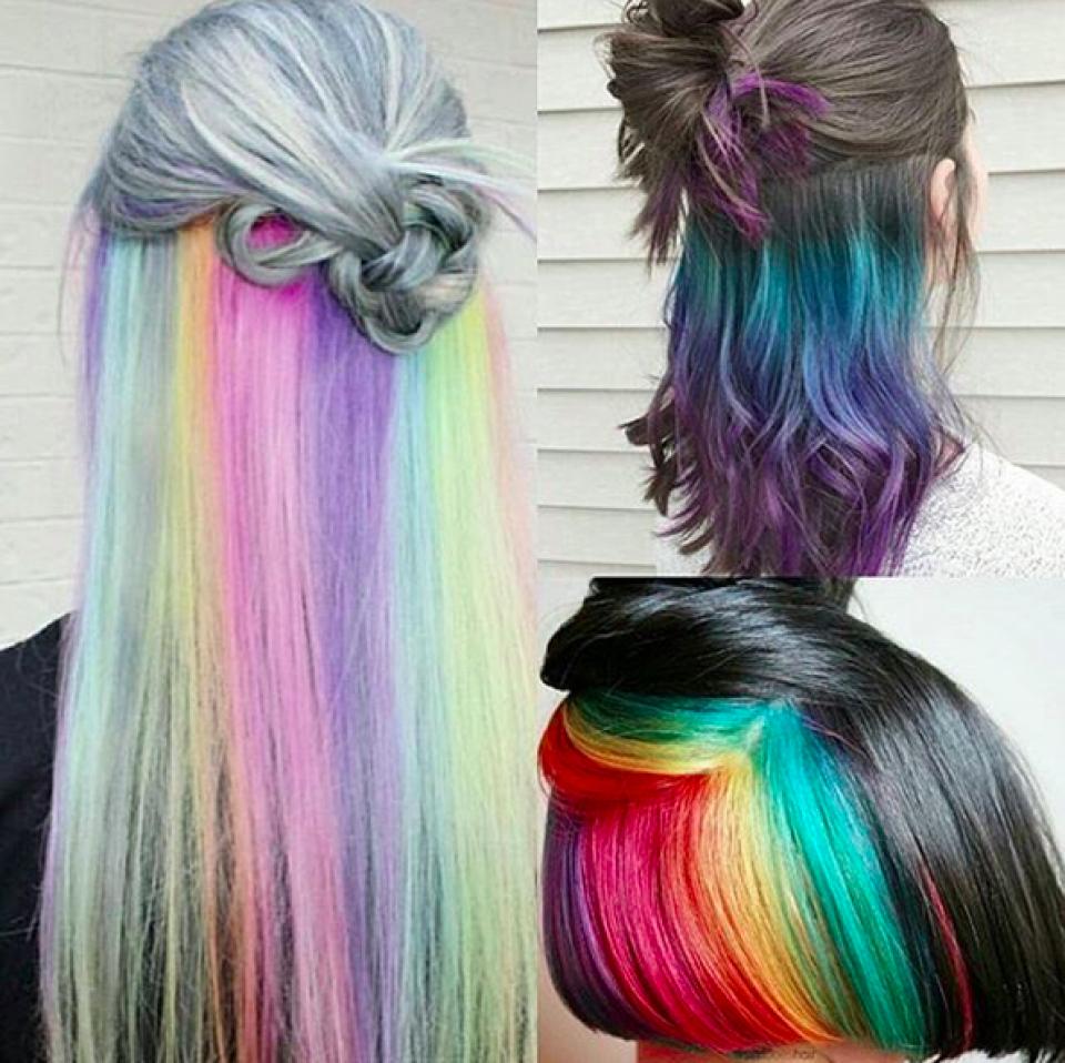 Nail Art Untuk Kulit Hitam: Warna Rambut Pendek Highlight