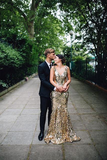 novia dorada