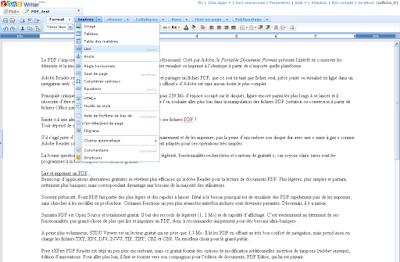 Zoho Writer, traitement de texte en ligne