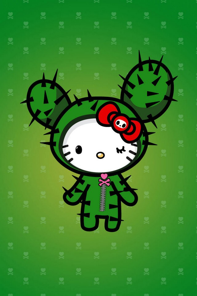 Anime Ipod Wallpapers Tokidoki Hello Kitty Download Iphone Ipod Touch Android