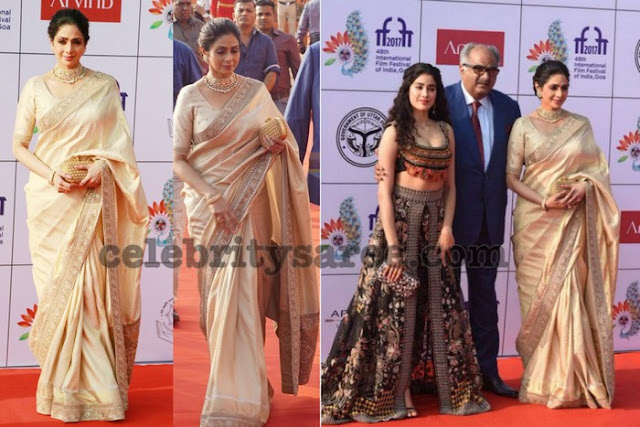 Sridevi Kapoor at IFFA 2017 Opening Ceremony