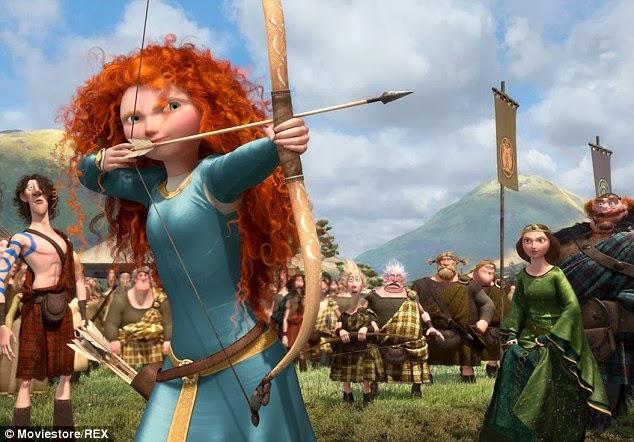 Princess Merida Brave Disney film filmprincesses.filminspector.com