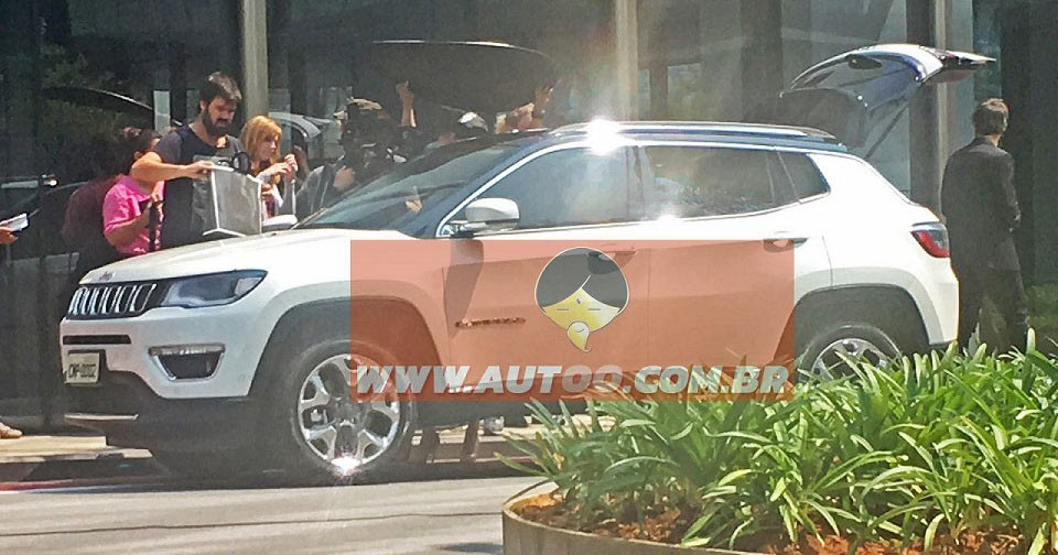 All-New 2017 Jeep Compass / Patriot Caught Undisguised, This Is It!