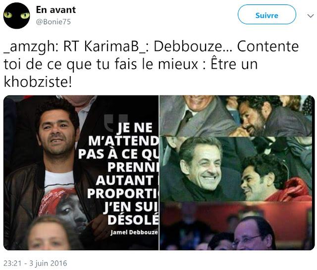 "Jamel Debbouze insulté de ""khobziste"""
