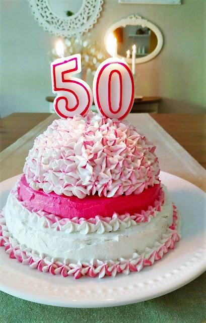 torta cincuenta años
