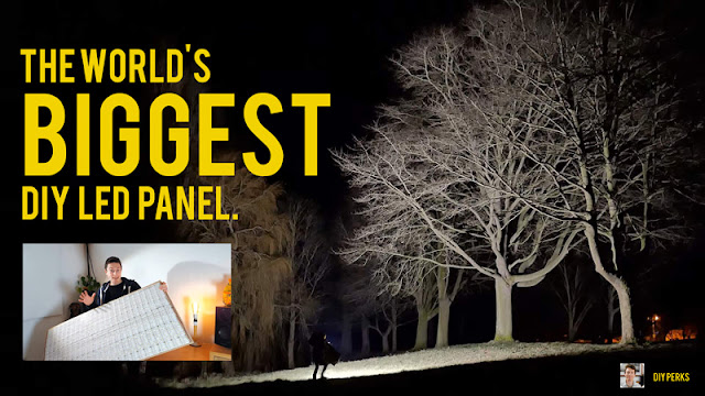 Building the WORLD'S BIGGEST DIY LED panel...