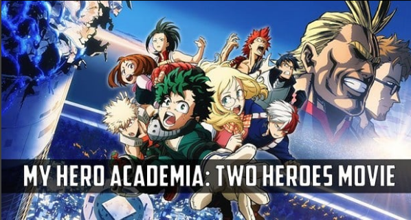 My Hero Academia: Two Heroes' Box Office Place Film in Anime Hall of Fame