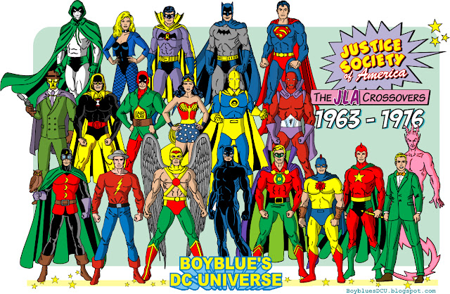 Justice Society member from Justice League Crossover