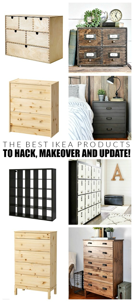 The best IKEA items to hack, makeover and update