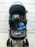 Pliko PK398 Retro Rocker Standard Baby Stroller