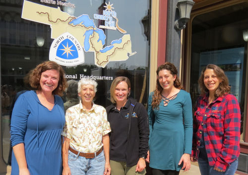 North Country Trail staff