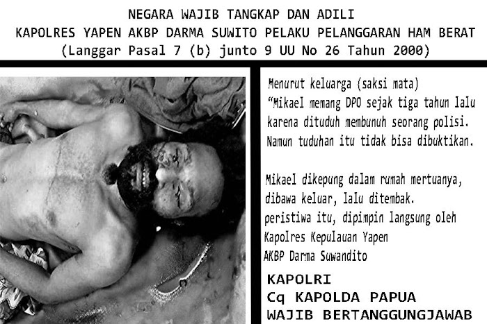 Pembunuhan Maikel Merani, Diplomasi Nihil Aparat Militer NKRI