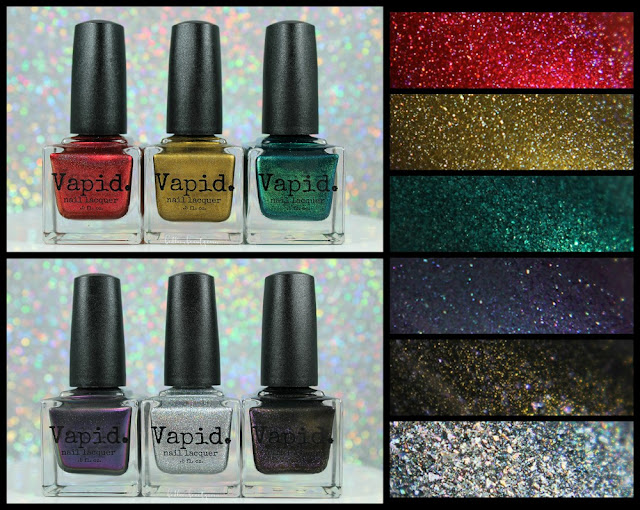 Vapid Lacquer Black Friday 2016 | Spamtacular Extravaganza