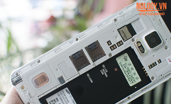 Samsung galaxy note 4 cũ 2 sim 2 sóng tiện ích