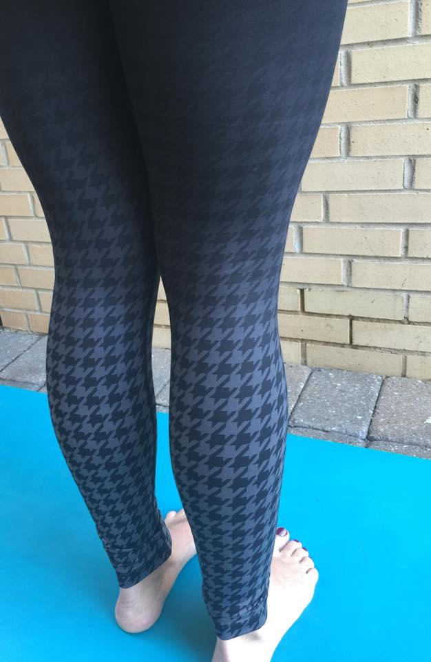 lululemon giant houndstooth dip dye wunder under pant