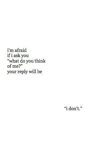 koska mä pelkään