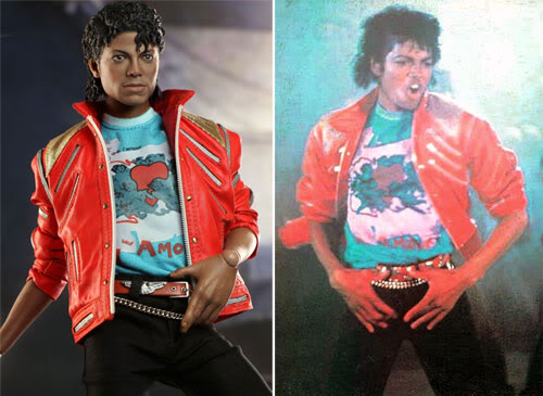 Hottoys exclusive michael jackson beat it for Three jackson toy
