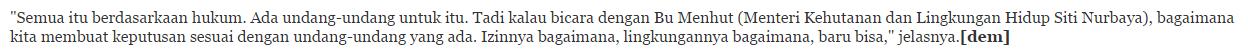 Setelah Susi kini JK Ikut Sentil Ahok Terkait Reklamasi Teluk Jakarta