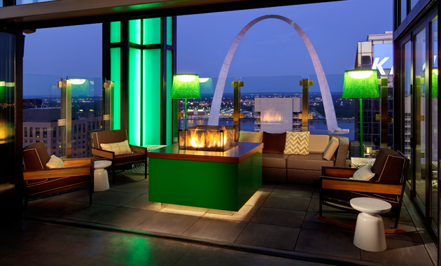 Rooftop Restaurant St Louis Mo