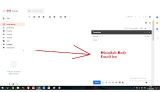 contoh penulisan kalimat di body email surat lamaran kerja/pekerjaan