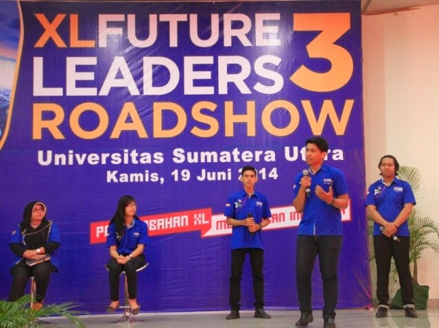 XL Future Leaders 3 Roadshow di Medan