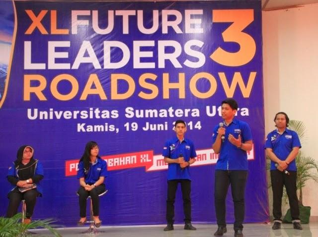 XL Future Leaders 3 Roadshow di Medan