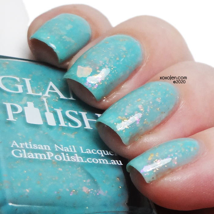 xoxoJen's swatch of Glam Polish Don't You Want To Go To Paris? See The Opera?