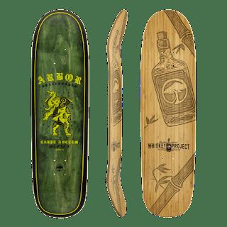 ポップ力抜群のアダルトなスケートボードデッキ