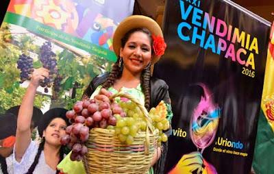 Invitan a la XXXI Vendimia Chapaca 2016